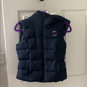 Hollister Vest with Hood size small